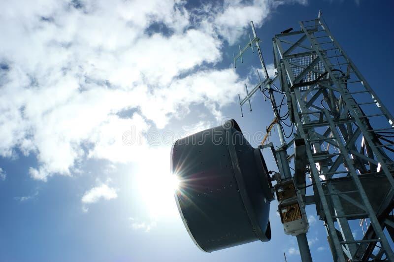 telecomunicationtorn fotografering för bildbyråer