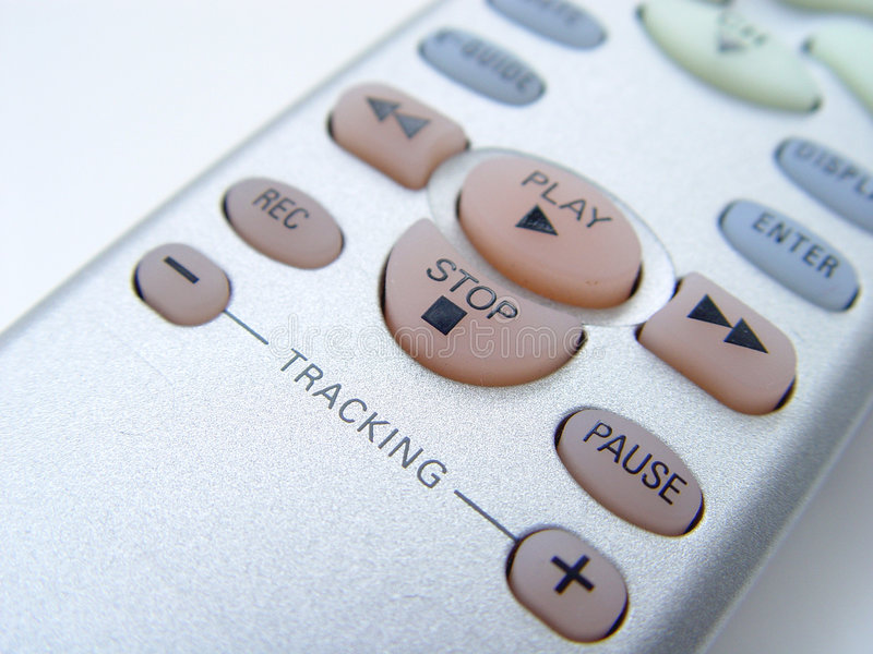 Telecontrol De La TV Fotos de archivo libres de regalías