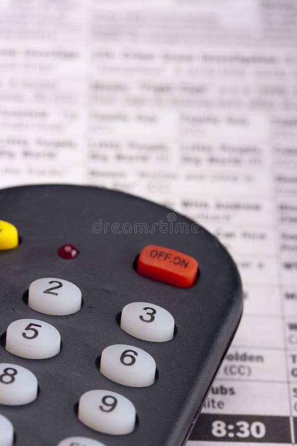 Telecontrol Para La TV Imagen de archivo libre de regalías