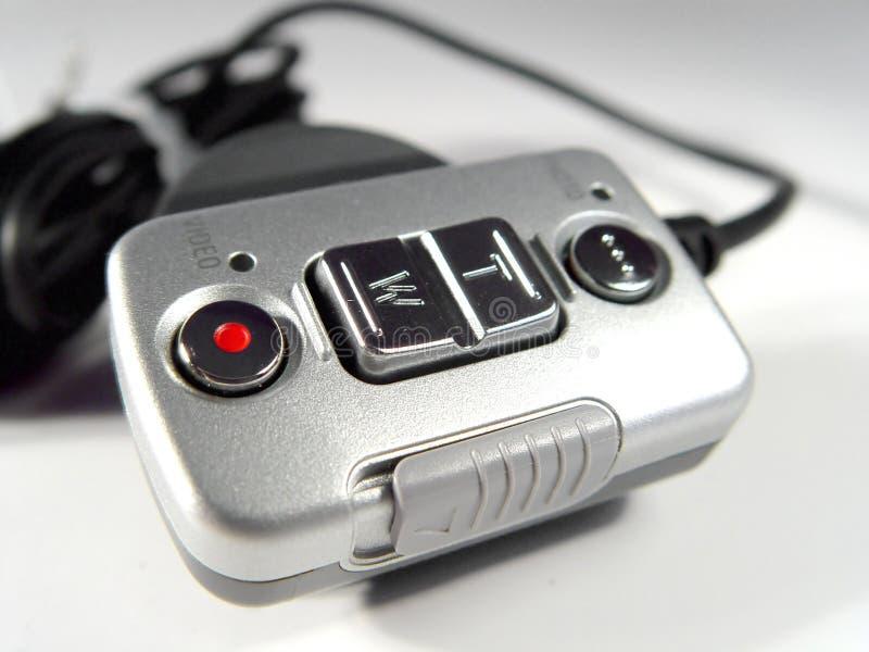 Telecontrol para las cámaras digitales imagen de archivo libre de regalías