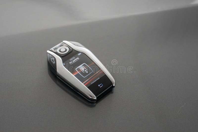 Teledirigido con el panel LCD para el coche fotos de archivo