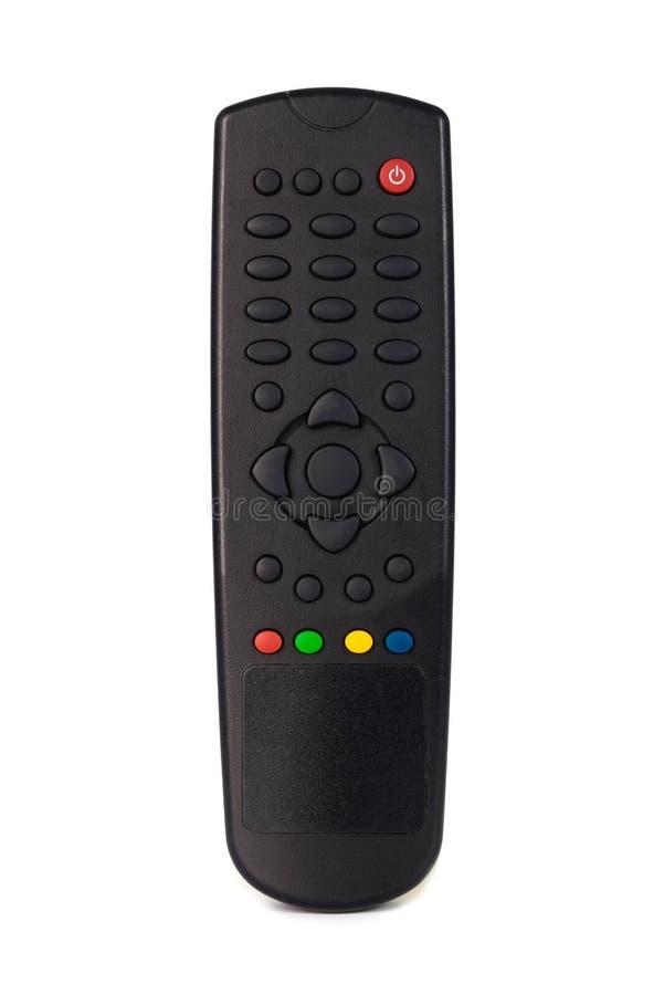 Teledirigidos infrarrojos para el receptor de satélite de la TV sin el texto, foto de archivo