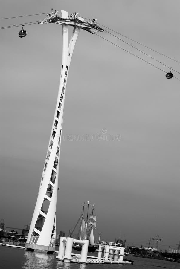 Teleférico de Londres foto de stock