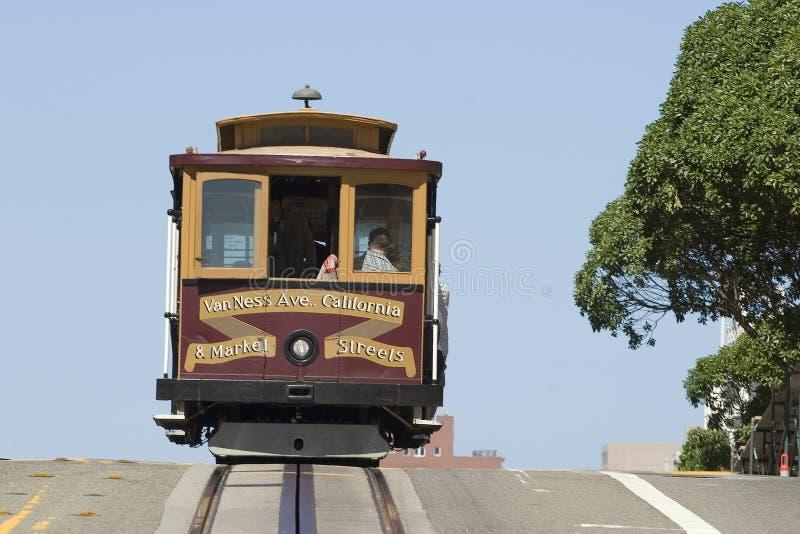 Teleférico em San Francisco imagens de stock royalty free