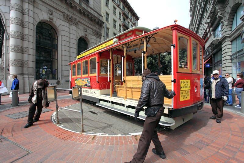 Teleférico, San Francisco fotos de archivo libres de regalías