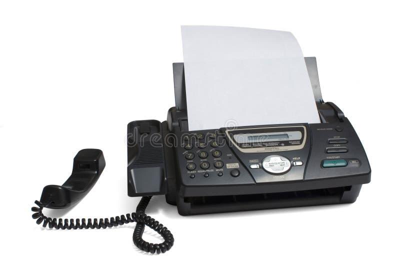 telefax royaltyfria bilder