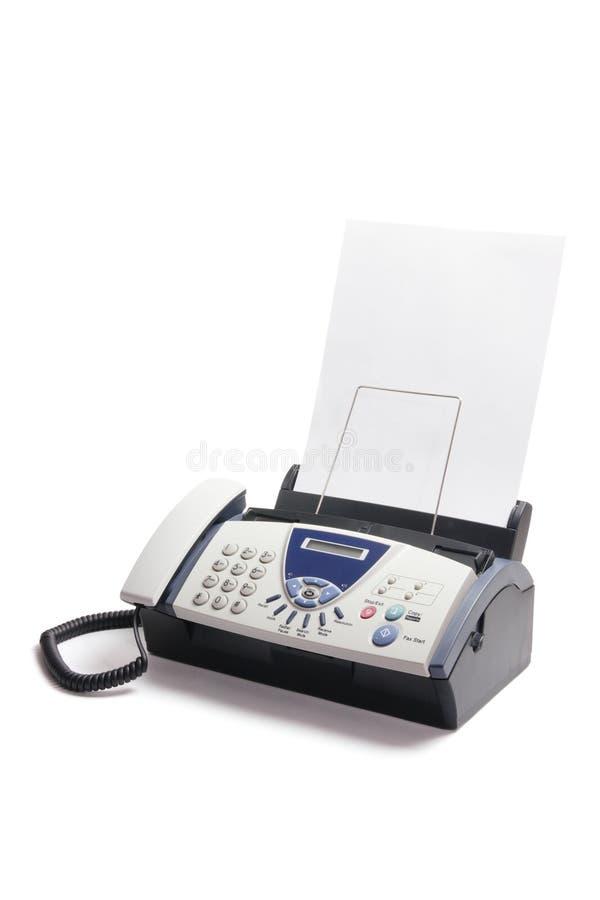 Telefax-Maschine stockbilder