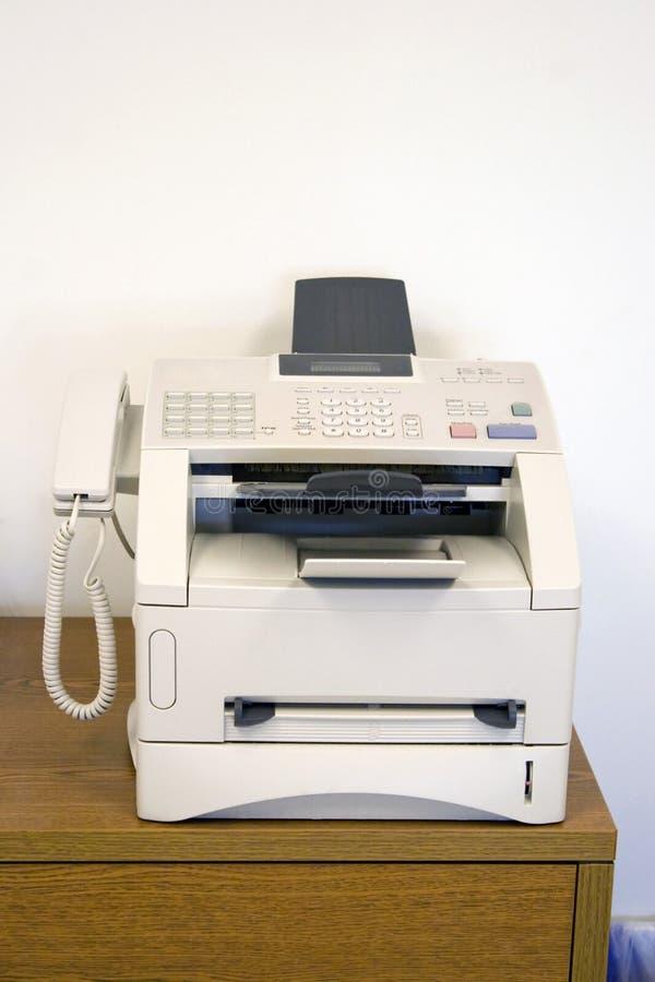 Telefax-Maschine lizenzfreies stockbild