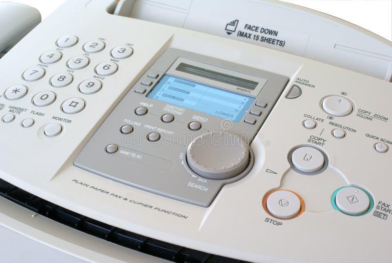 Telefaxmaschine lizenzfreie stockfotos