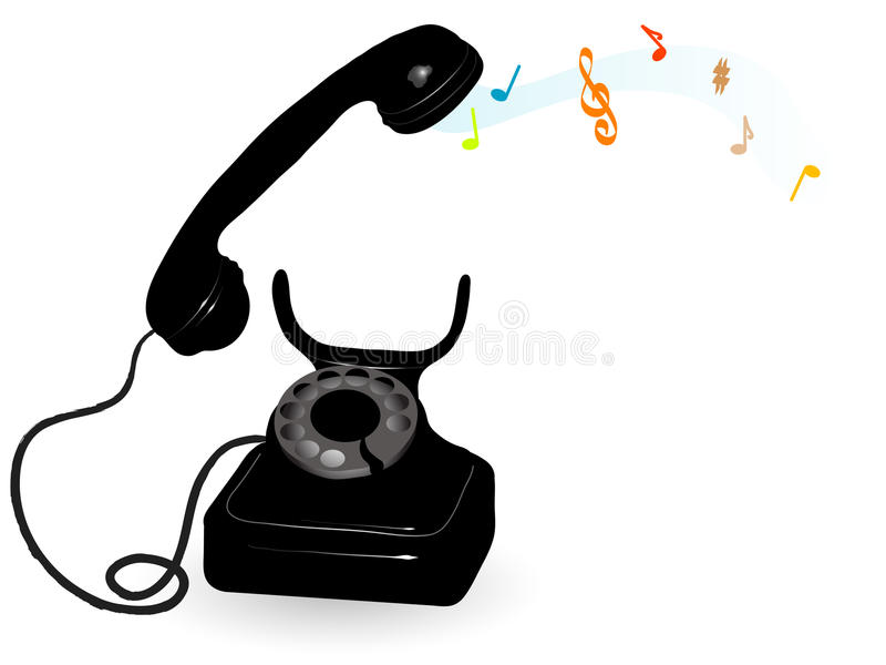 telefon ilustracji