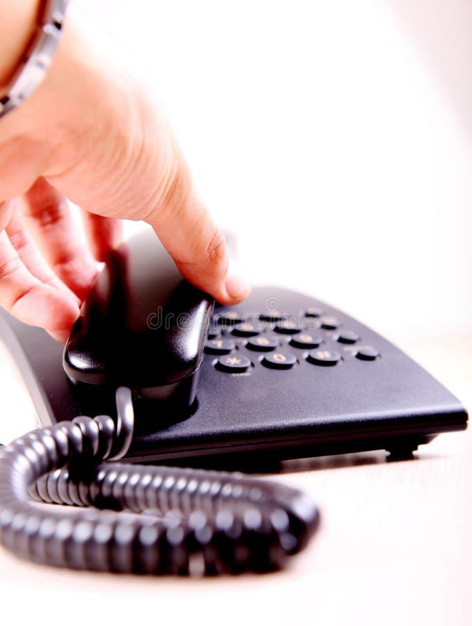 Download Telefon stockbild. Bild von wählen, hand, getrennt, netz - 12202783