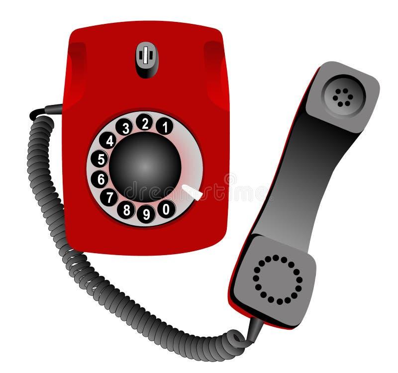 Telefon royalty ilustracja