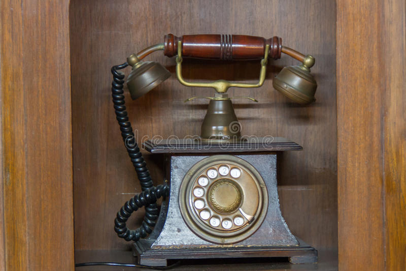 Telefon alt lizenzfreie stockfotografie
