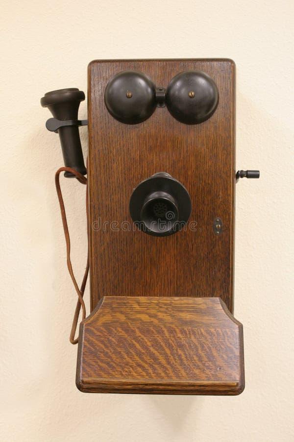 Telefon, alte Art stockfotos