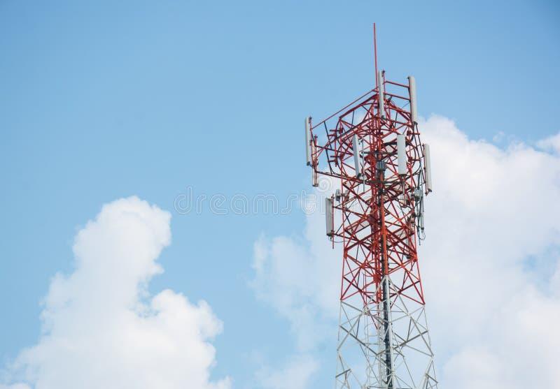 Telefon antena obrazy stock