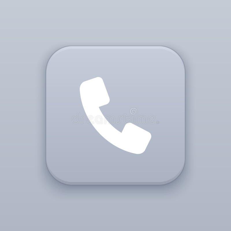 Telefon appellknapp, bästa vektor stock illustrationer