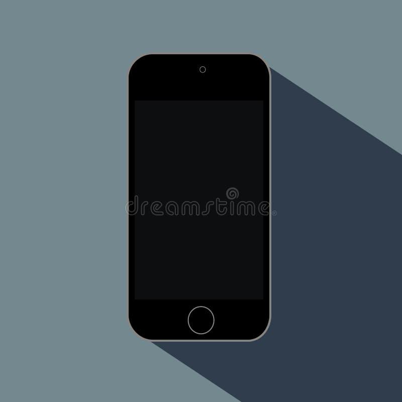 Telefon auf der Oberfläche lizenzfreie stockbilder