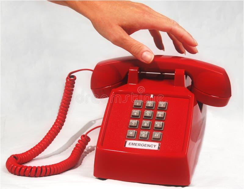 telefon awaryjny obraz stock