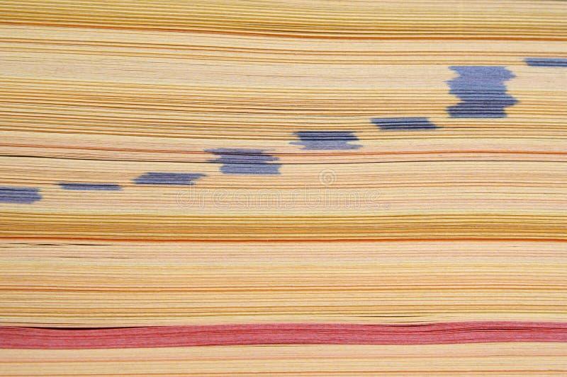 Telefon-Buch-Auszug lizenzfreies stockbild