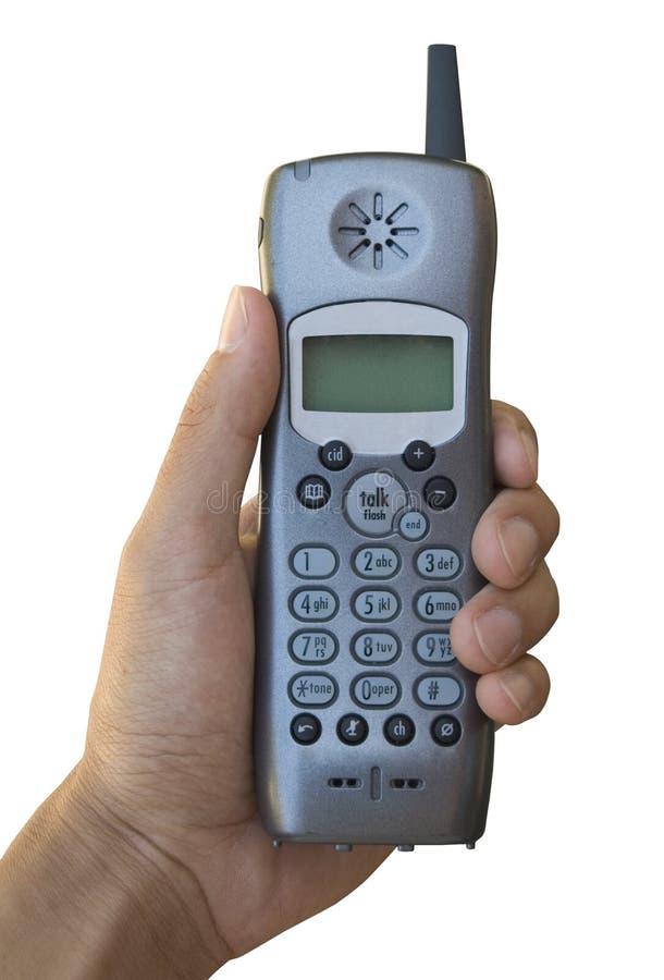 telefon cordless obraz stock
