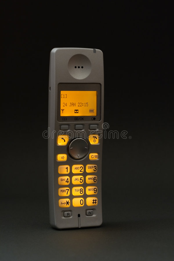 telefon cordless obrazy stock