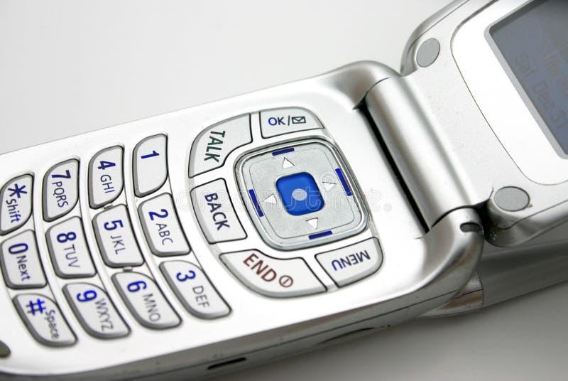 telefon do zakończenia komórek zdjęcie stock