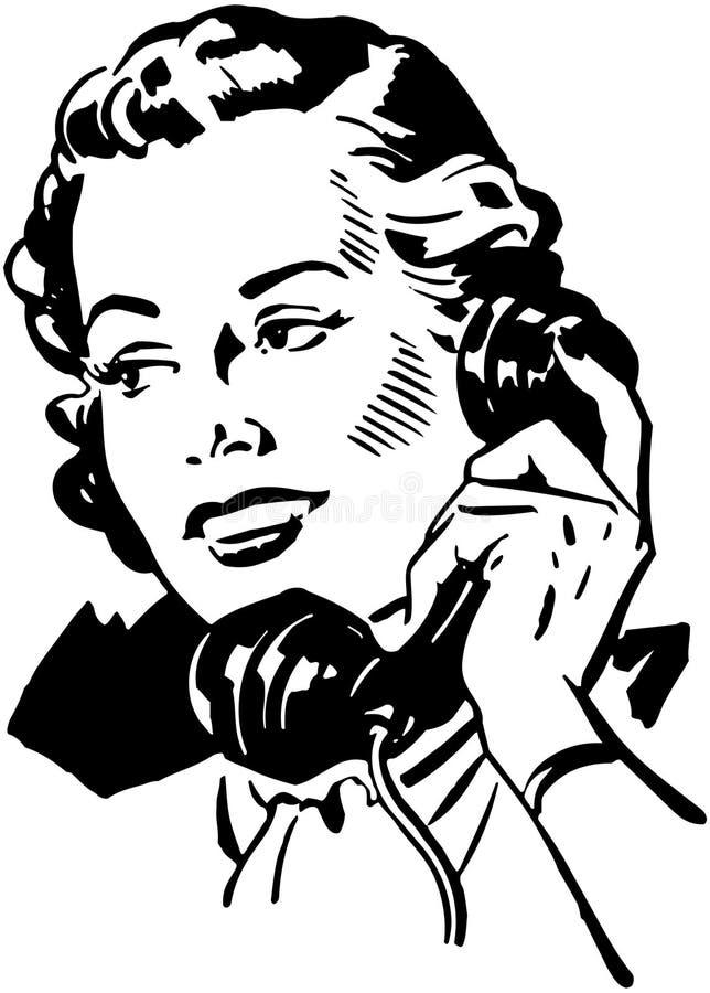 Telefon Gal 2 royalty ilustracja