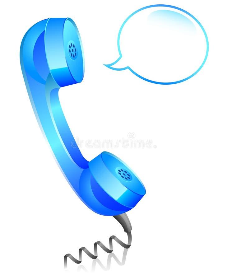 Telefon-Ikone stock abbildung