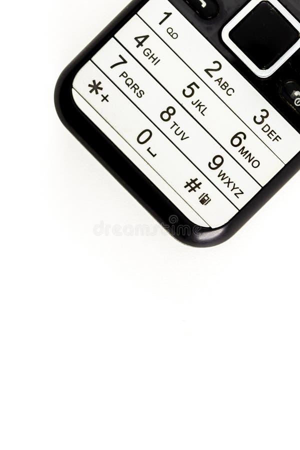 Telefon klawiatura fotografia stock
