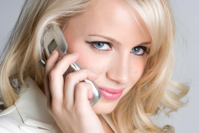 telefon kobieta zdjęcia stock