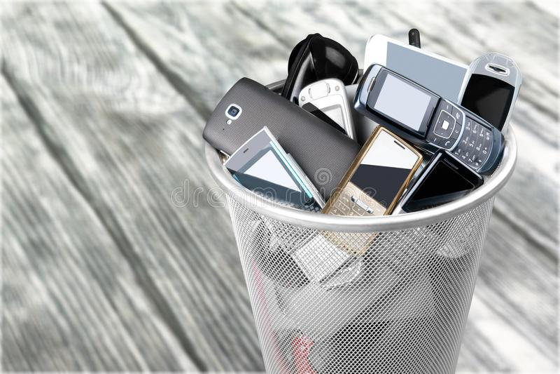Telefon komórkowy fotografia stock