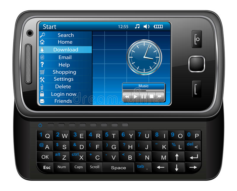 telefon komórkowy ilustracji