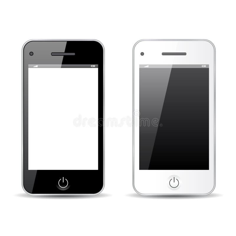 Download Telefon komórkowy ilustracja wektor. Ilustracja złożonej z kolor - 53780686