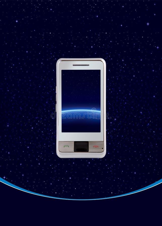 telefon komórkowy dotyk royalty ilustracja
