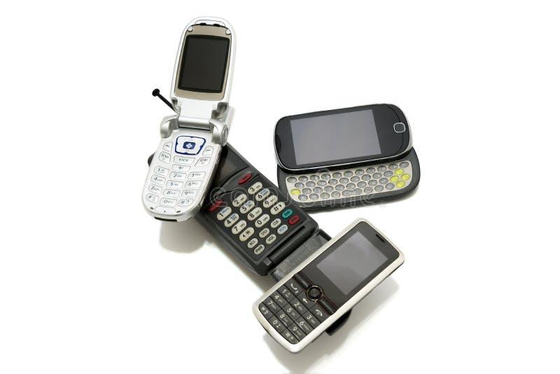 Telefon komórkowy ewolucja zdjęcia royalty free