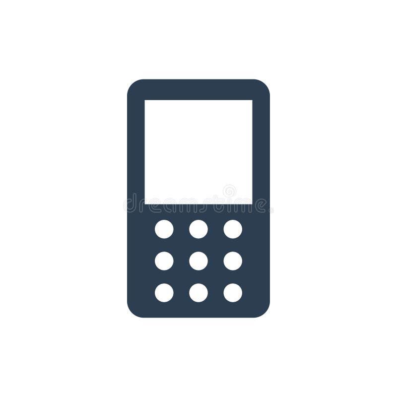 Telefon komórkowy ikona ilustracji