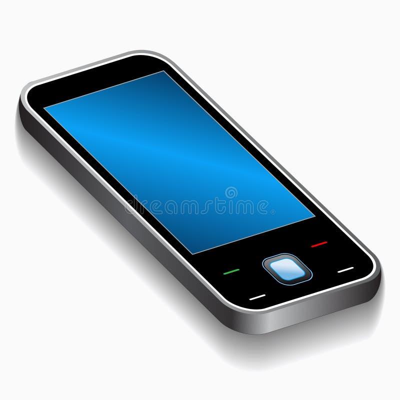 telefon komórkowy ilustracyjny wektor royalty ilustracja