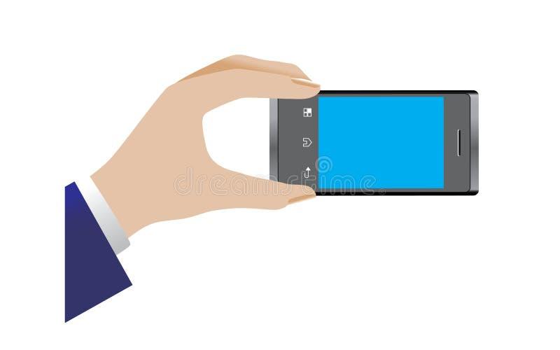 Telefon komórkowy kamera ilustracja wektor