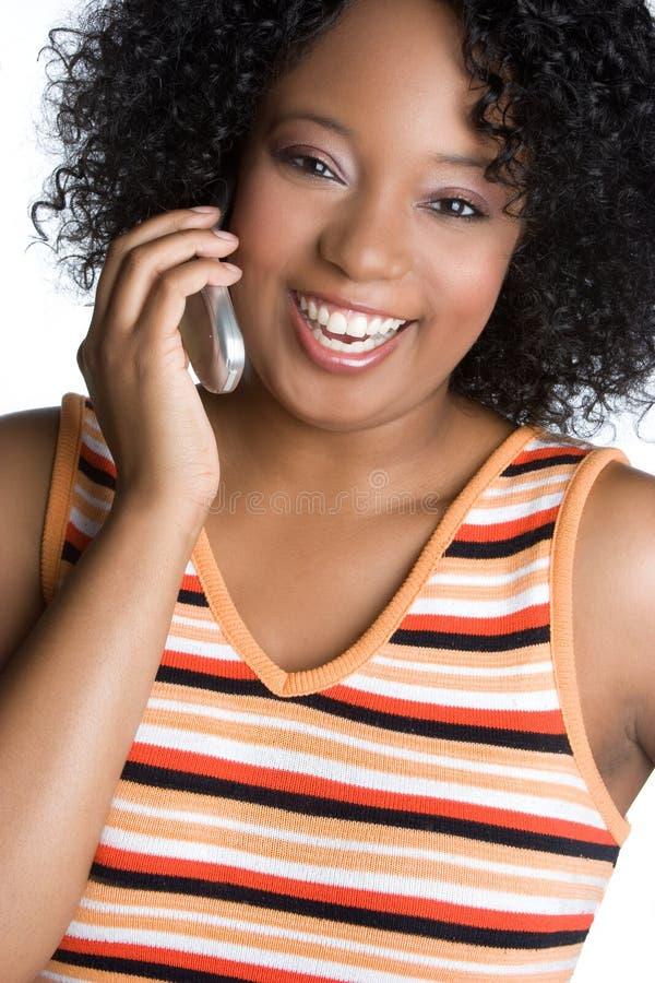 telefon komórkowy kobieta obrazy stock