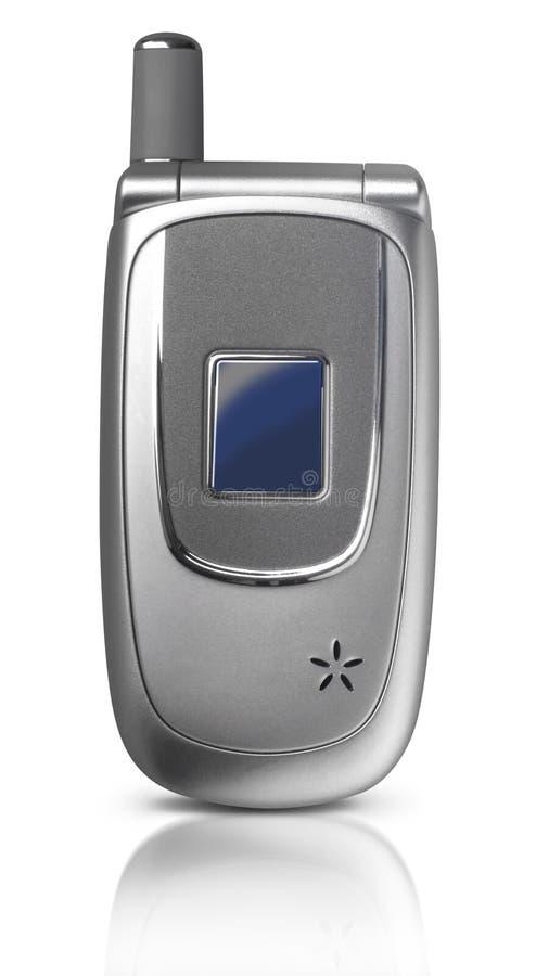 telefon komórkowy małża zamknięte zdjęcie royalty free