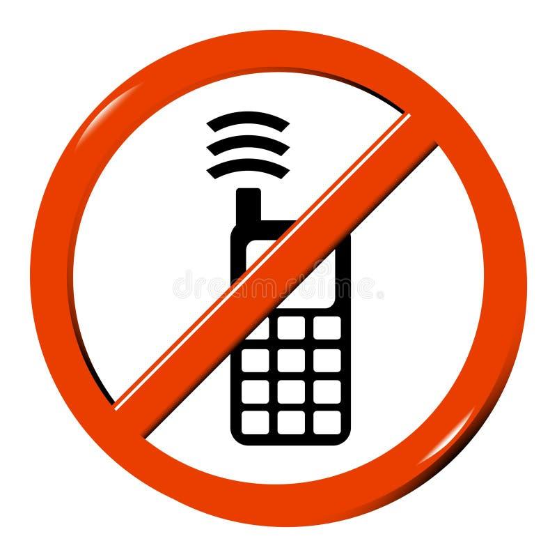 telefon komórkowy nie royalty ilustracja