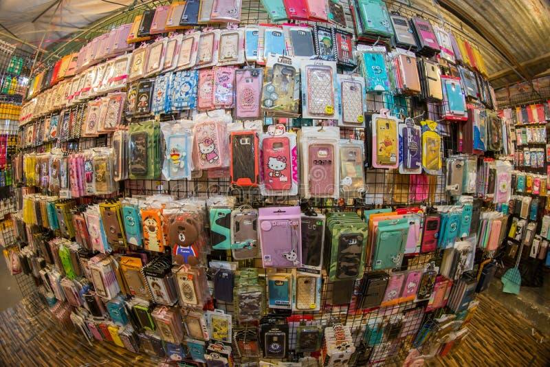 Telefon komórkowy skrzynki zdjęcie royalty free