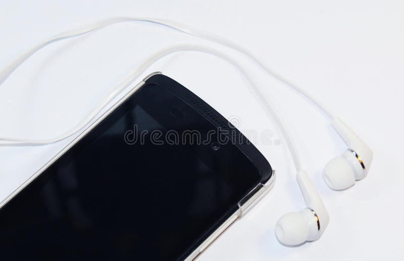 Telefon komórkowy z telefonami zdjęcia stock