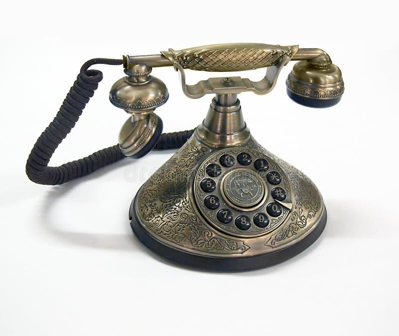 telefon retro obrazy stock