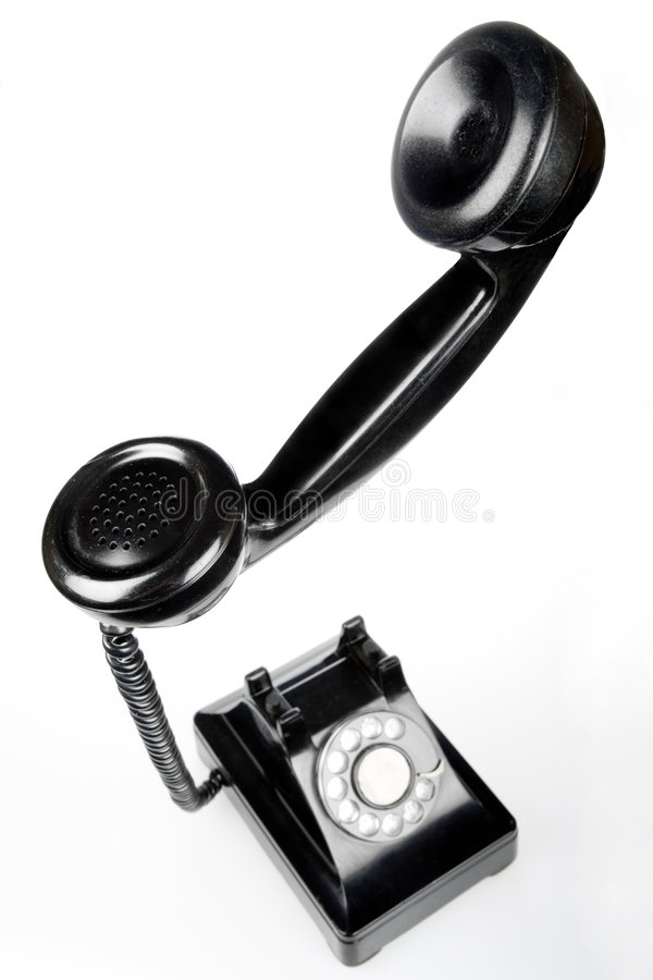 telefon retro obraz stock