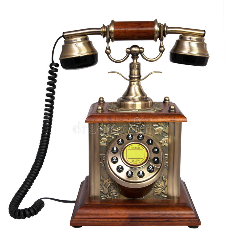 telefon retro obrazy royalty free