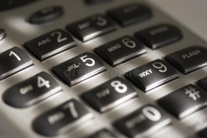 Telefon-Tastaturblock stockbild