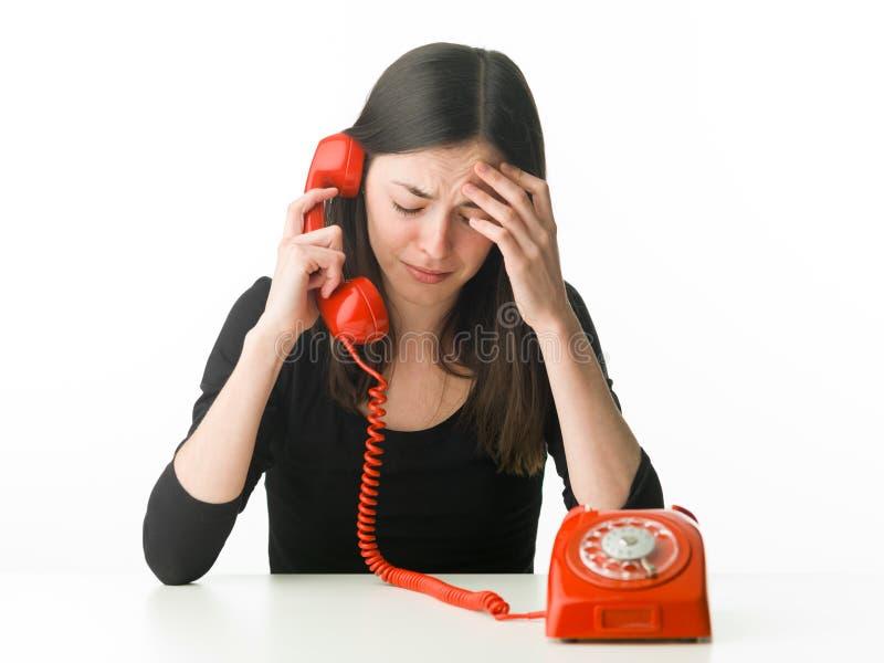 Telefon terapia zdjęcia royalty free