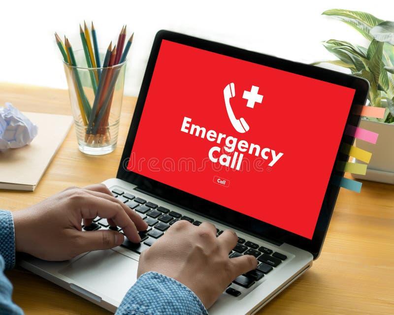 Telefon W Sprawie Nagłego Wypadku centrum usługa Nagląca Przypadkowa linia specjalna medyczna zdjęcie royalty free