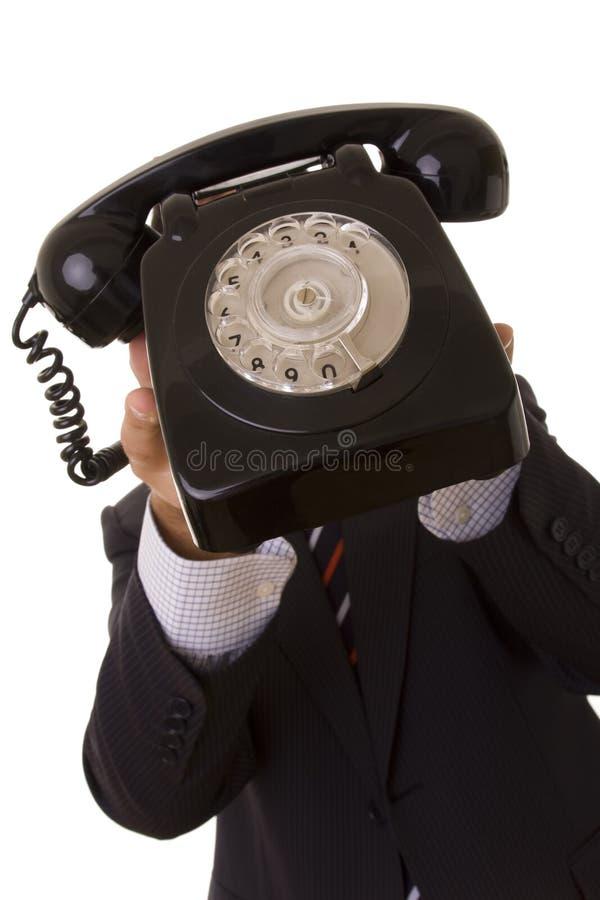 Telefonata per voi! fotografia stock